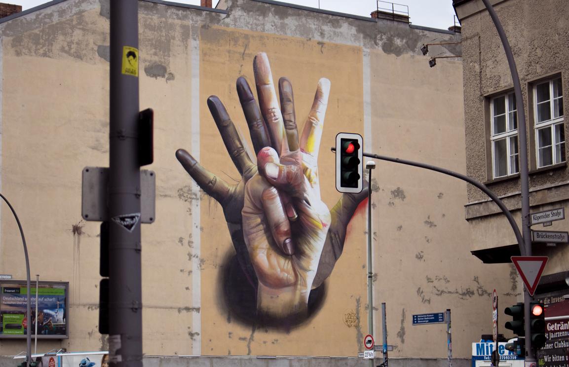 We Are One. Köpernicker Straße. Berlin, Germany.